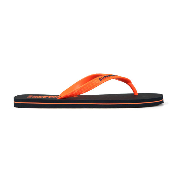 Superdry Mens Blue Sleek Flip Flop main image
