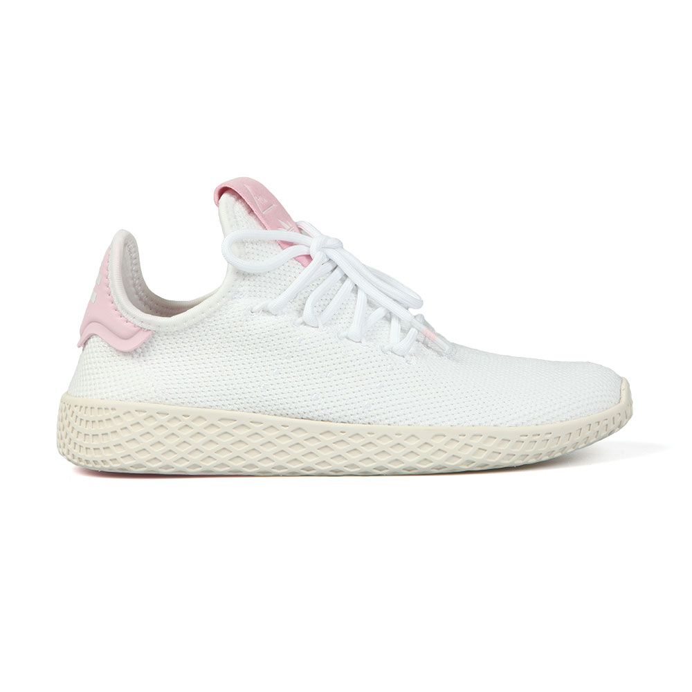 new concept 0caff 260bd adidas Originals Womens White Pharrell Williams Tennis HU Trainer