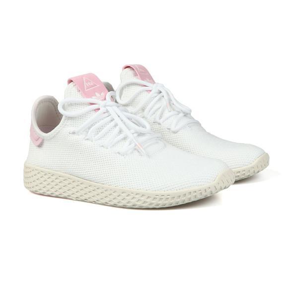 adidas Originals Womens White Pharrell Williams Tennis HU Trainer main image