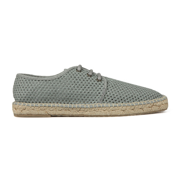 H By Hudson Mens Grey Benson Canvas Shoe main image