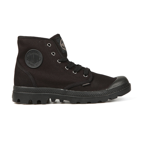 Palladium Mens Black Pampa Hi Canvas Boot main image