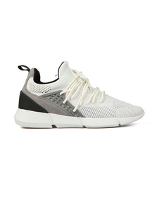 Cortica Mens White Rapide Knit Trainers