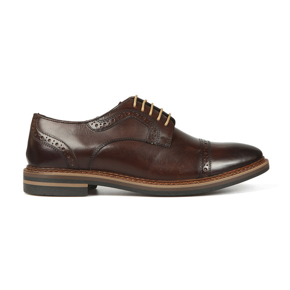 Base London Mens Brown Butler Shoe main image