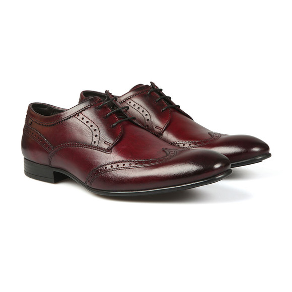 Base London Mens Red Purcell Shoe main image