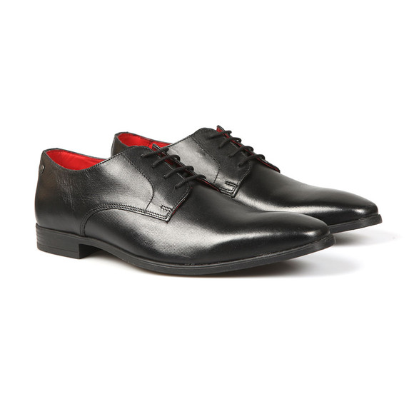 Base London Mens Black Shilling Shoe main image
