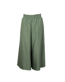 French Connection Womens Green Ellesmere Drape Culotte