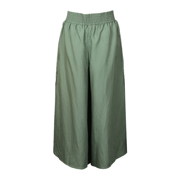French Connection Womens Green Ellesmere Drape Culotte main image