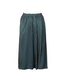 Maison Scotch Womens Blue Midi Length Full Skirt