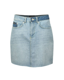 Superdry Womens Blue Denim Mini Skirt