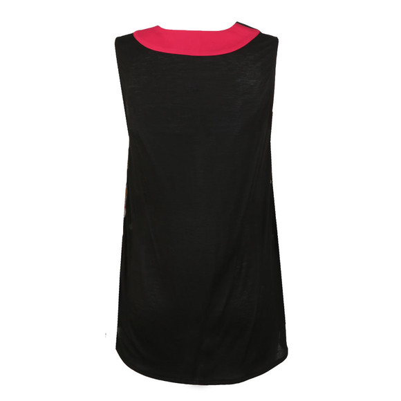 French Connection Womens Black Enoshima Crepe Sleeveless Top main image