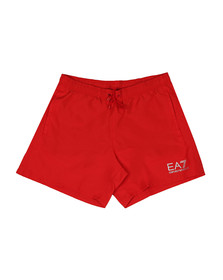 EA7 Emporio Armani Mens Red Sea World Swim Shorts
