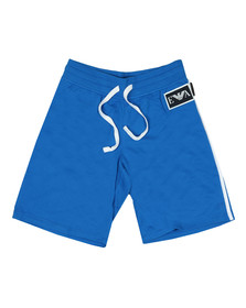 Emporio Armani Mens Blue Taping Sweatshorts