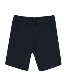 Emporio Armani Mens Blue Small Eagle Chino Short