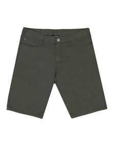 Emporio Armani Mens Green Bermuda Chino Short