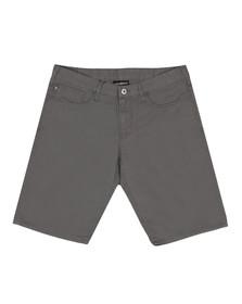 Emporio Armani Mens Grey Bermuda Chino Short