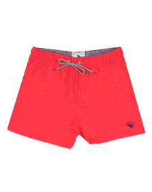 Ted Baker Mens Red Plain Swim Short