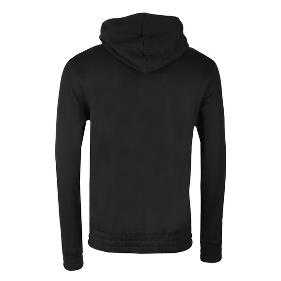 BOSS Bodywear Mens Black Contemp Hooded Loungewear Hoodie main image