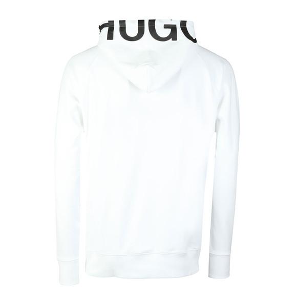 Hugo Mens White Dayfun Logo Hoody main image