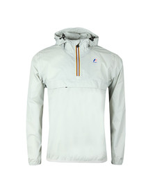 K-Way Mens Grey Le Vrai 3.0 Leon 1/2 Zip Jacket