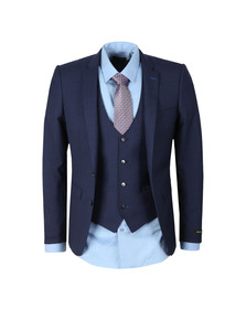 Remus Mens Blue Lazio 3 Piece Suit