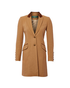 Holland Cooper Womens Brown Kempton Coat