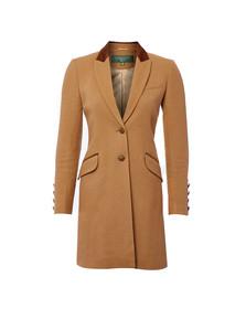 Holland Cooper Womens Brown Kempton Coat