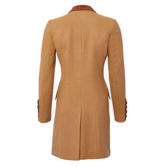 Holland Cooper Womens Brown Kempton Coat main image