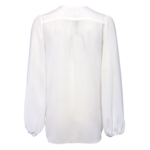 Holland Cooper Womens Off-white Zip Shirt main image