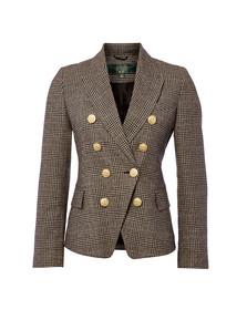 Holland Cooper Womens Grey Knightsbridge Blazer
