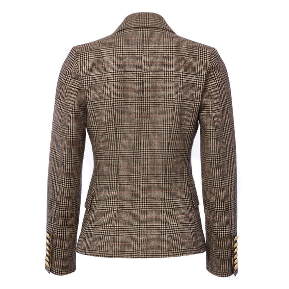 Holland Cooper Womens Grey Knightsbridge Blazer main image