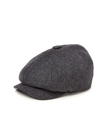 Holland Cooper Unisex Grey Baker Boy Cap