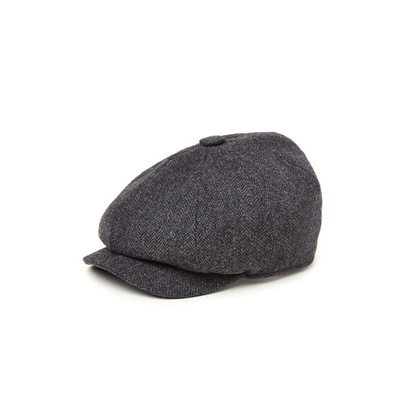 Holland Cooper Unisex Grey Baker Boy Cap main image