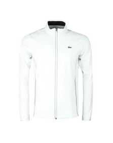 Lacoste Sport Mens White Novak Djokovic Track Top