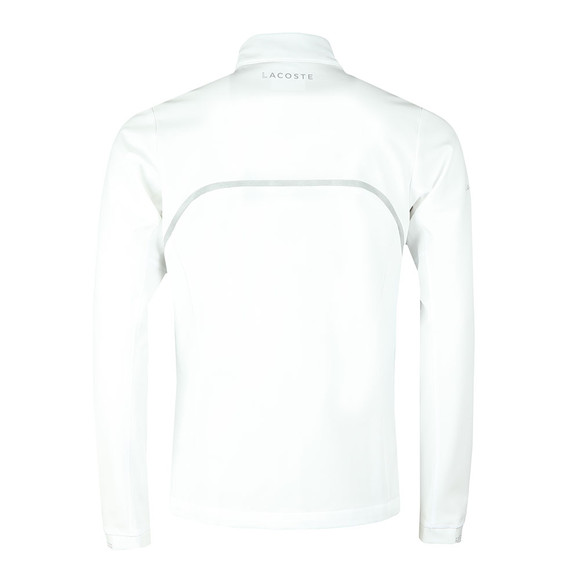 Lacoste Sport Mens White Novak Djokovic Track Top main image