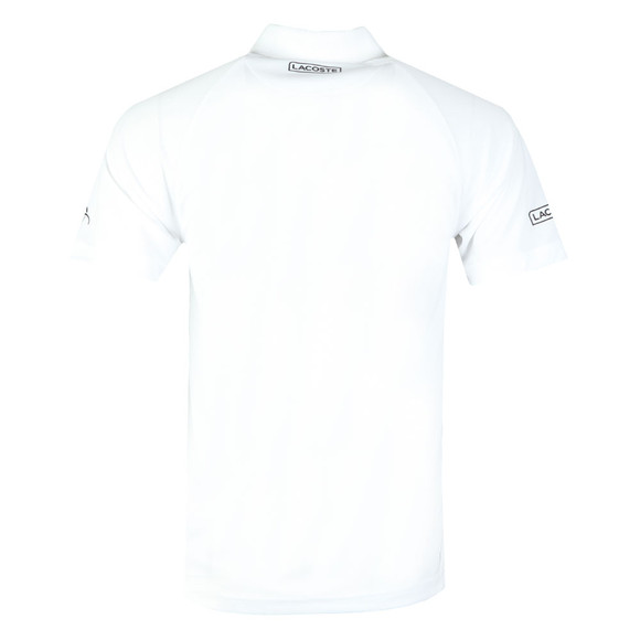 Lacoste Sport Mens White S/S Novak Djokovic Polo main image