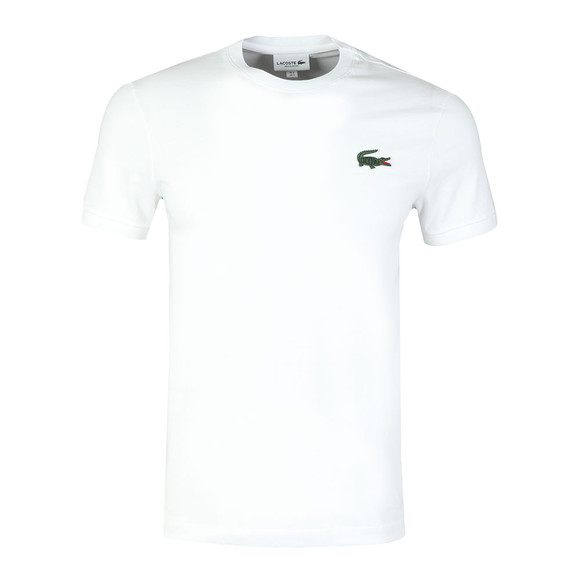 Lacoste Mens White S/S TH3246 Tee main image