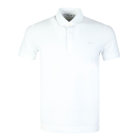 Lacoste Mens White PH5522 Paris Polo