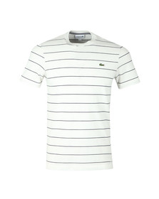 Lacoste Mens White S/S TH3218 Tee