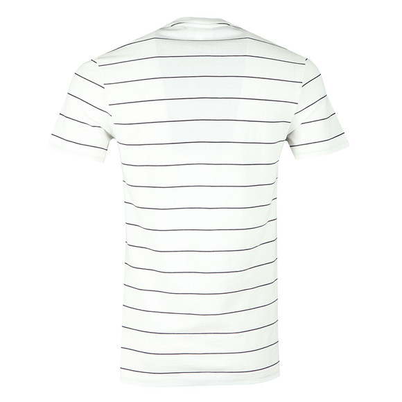 Lacoste Mens White S/S TH3218 Tee main image