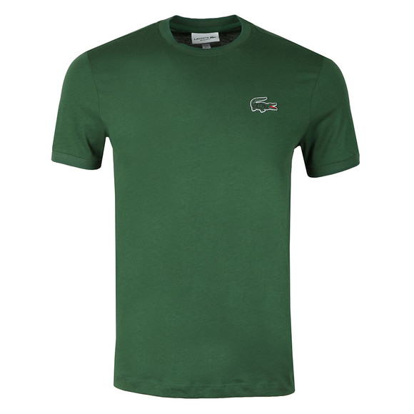 Lacoste Mens Green S/S TH3246 Tee main image