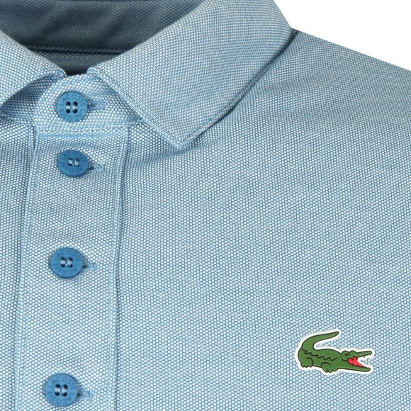 Lacoste Sport Mens Blue S/S DH3385 Polo main image