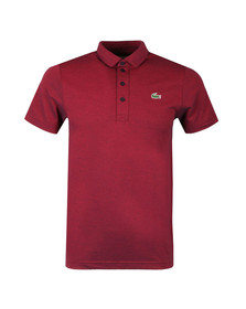 Lacoste Sport Mens Red S/S DH3385 Polo