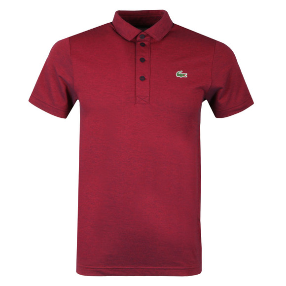 Lacoste Sport Mens Red S/S DH3385 Polo main image
