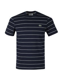 Lacoste Mens Blue S/S TH3218 Tee
