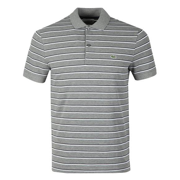 Lacoste Mens Grey S/S PH3150 Polo
