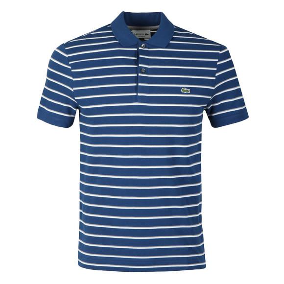 Lacoste Mens Blue S/S PH3150 Polo main image