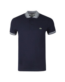 Lacoste Mens Blue S/S/ PH3938 Polo