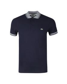Lacoste Mens Blue S/S/ PH3938 Polo