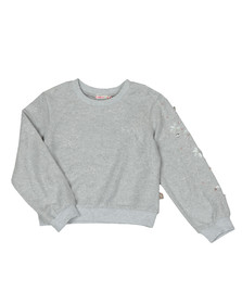 Billieblush Girls Silver U15507 Sweatshirt