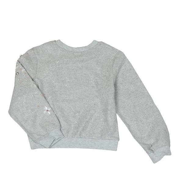 Billieblush Girls Silver U15507 Sweatshirt